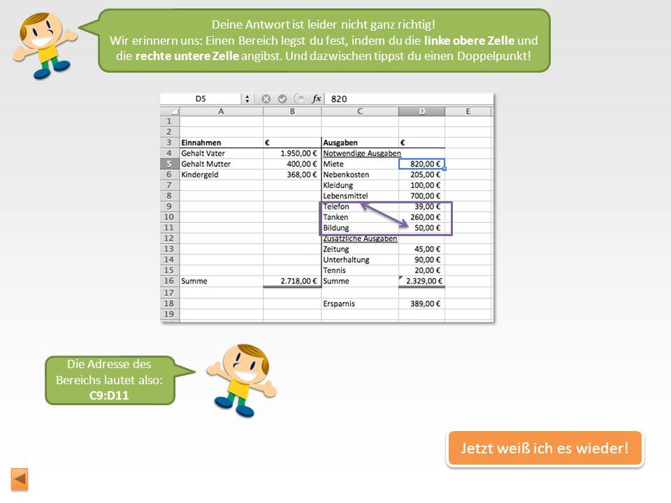 Du bist auf einem super Weg zum wahren Excel-Experten. Gleich zeige ich dir eine schnelle Art, wie du ganz viele Zahlen total schnell addieren kannst!