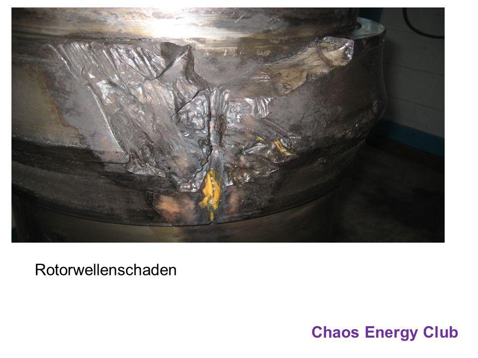 Chaos Energy Club Rotorwellenschaden