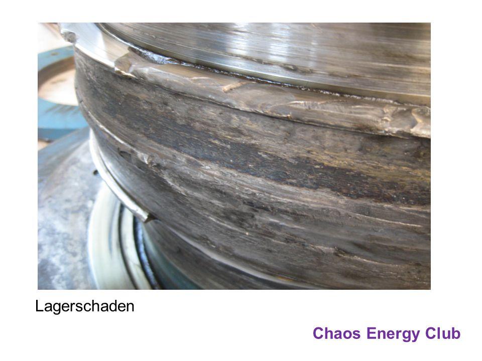 Chaos Energy Club Lagerschaden