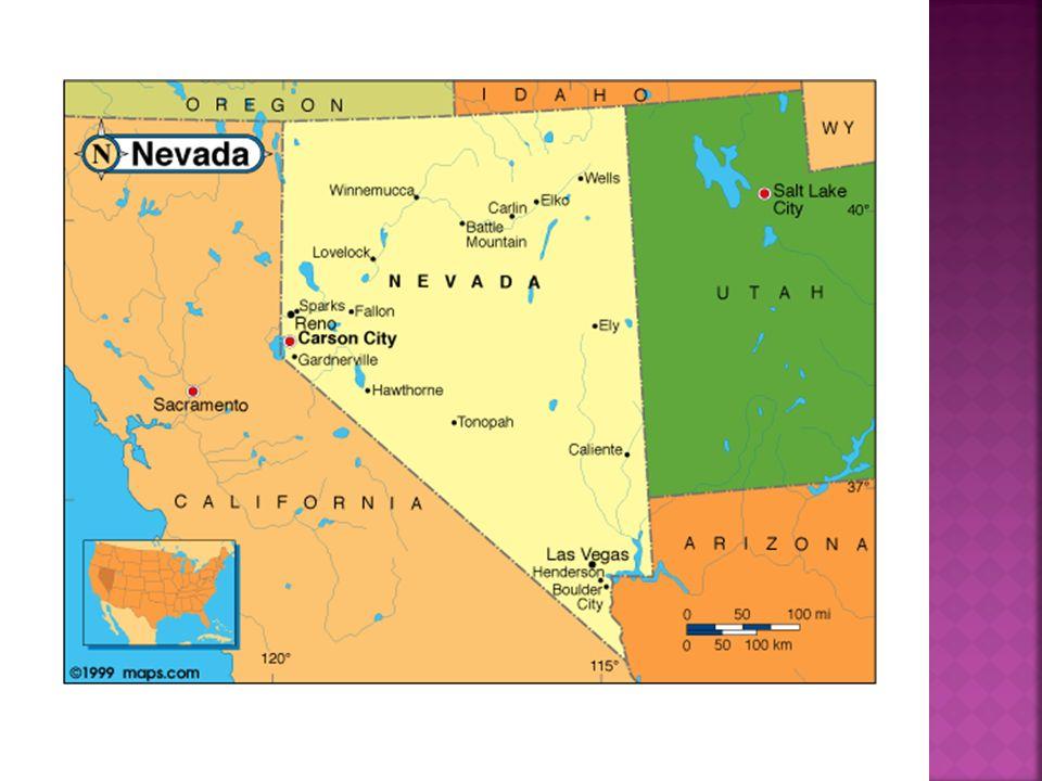 Eine Stadt in Nevada mit der größten Einwohnerzahl Bekannt vor allem wegen der Kasinos, Geschäften und Restaurants Einwohnerzahl in Las Vegas ist ca.