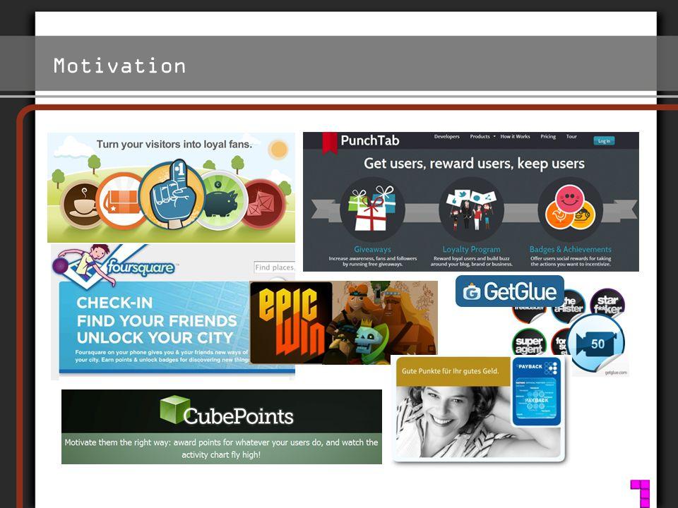 Motivation Ziel: Korrumpierungseffekt Extrinsische Motivation Intrinsische Motivation http://www.s2h.com/