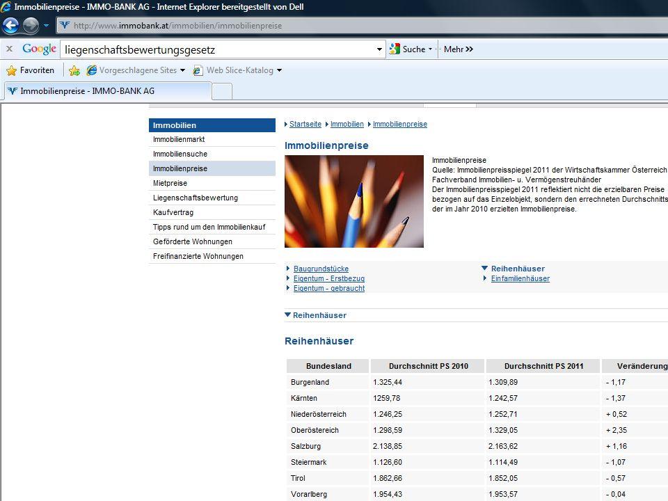 Professor Horst Cerjak, 19.12.2005 27 LV Bau- und Immobilienfinanzierung