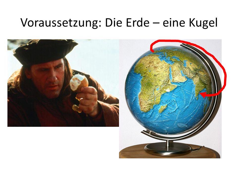 Voraussetzung: Die Erde – eine Kugel