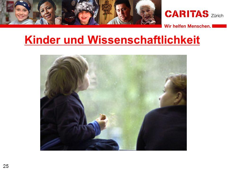25 Kinder und Wissenschaftlichkeit