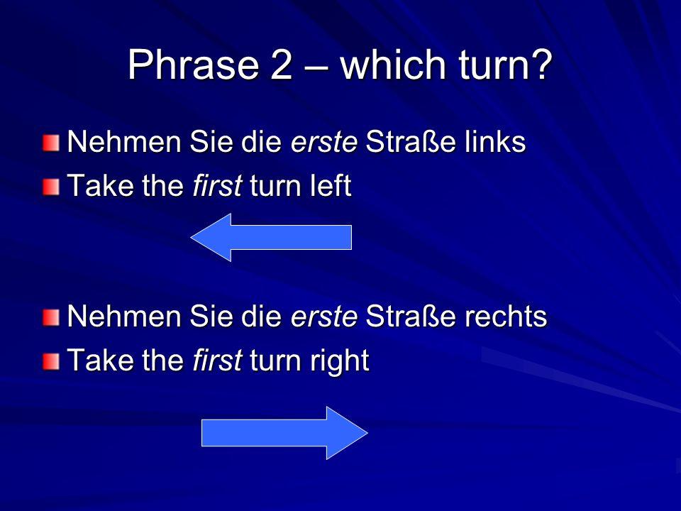 Words instead of erste 1. = erste 2. = zweite 3. = dritte 4. = vierte 5. = f ü nfte 6. = sechste