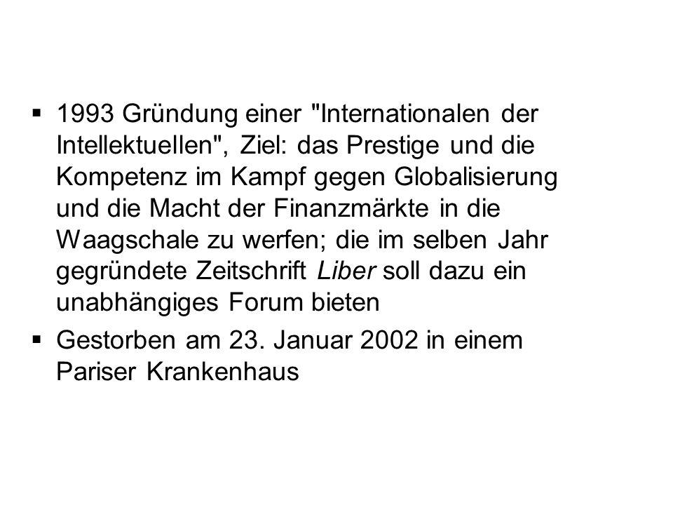 1993 Gründung einer