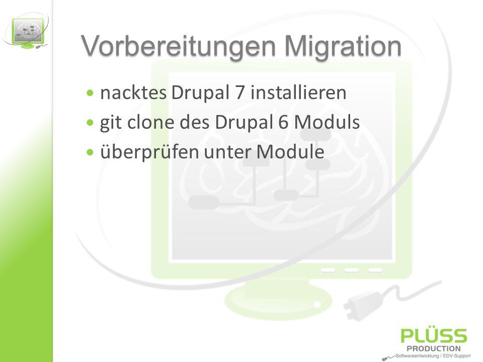 .info Datei anpassen Writing.info files (Drupal 7.x) http://drupal.org/node/542202 core = 7.x dependencies Format hat geändert configure …
