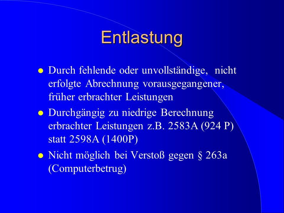 Ziel: l Einstellung des Verfahrens gegen Auflagen nach § 153a StPO (vergl.