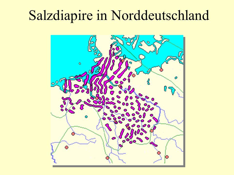Salzdiapire in Norddeutschland