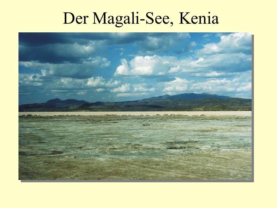 Der Magali-See, Kenia