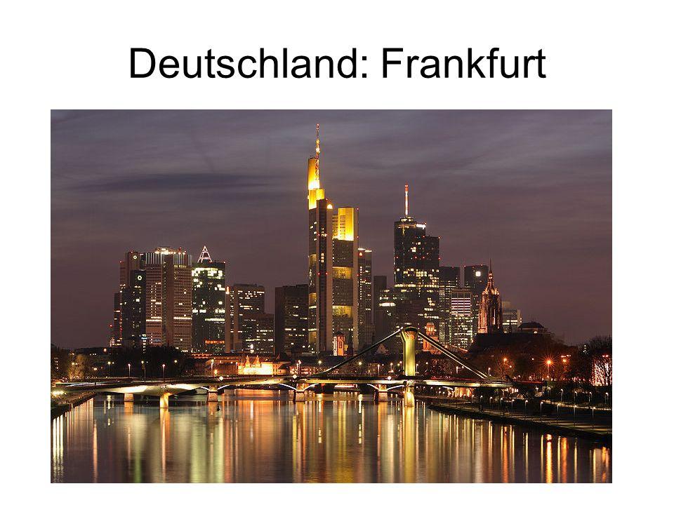 Deutschland: Frankfurt