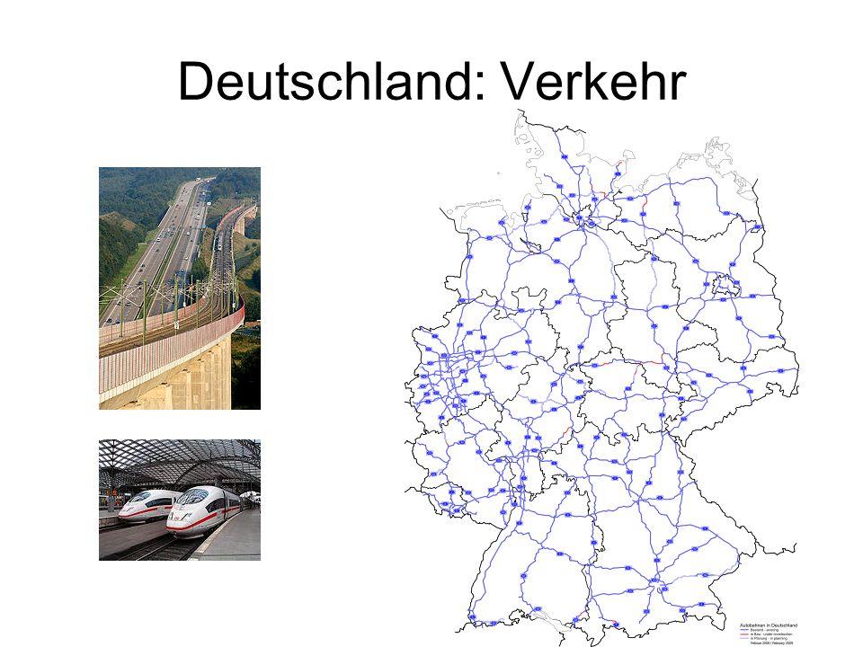 Deutschland: Verkehr