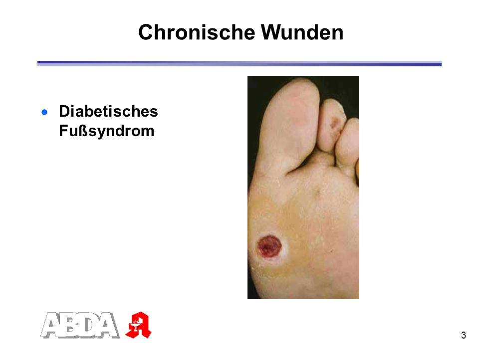 3 Chronische Wunden Diabetisches Fußsyndrom