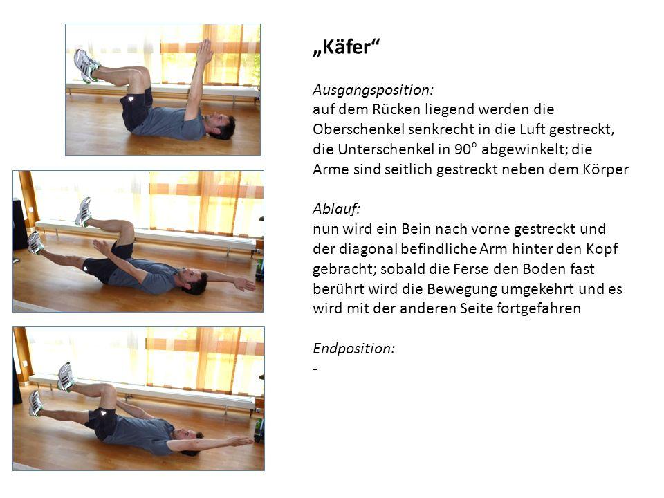 Partnerübung Rudern Material: zwei gleichlange Handtücher Ausgangsposition: Die Sportler sitzen sich mit angewinkelten Beinen gegenüber, Ihre Fußsohlen sind gegeneinander gestellt.