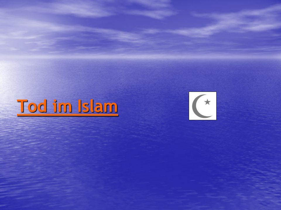 Tod im Islam