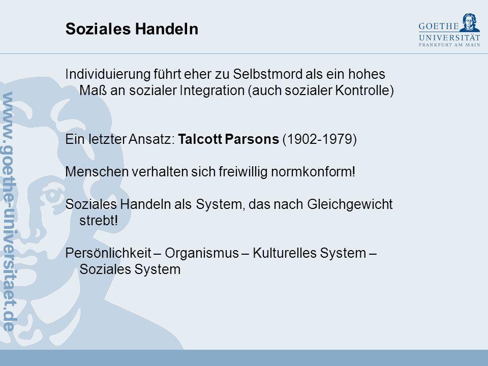 Soziales Handeln 2.