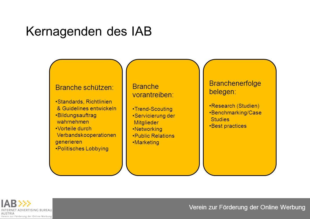Folie 13 Verein zur Förderung der Online Werbung IAB Austria Lerchenfelder Strasse 88-90/13 | A-1080 Wien +43 (0) 680 1280034 administration@iab-austria.at www.iab-austria.at www.facebook.com/iabaustria www.youtube.com/iabaustria Wir helfen gerne weiter!