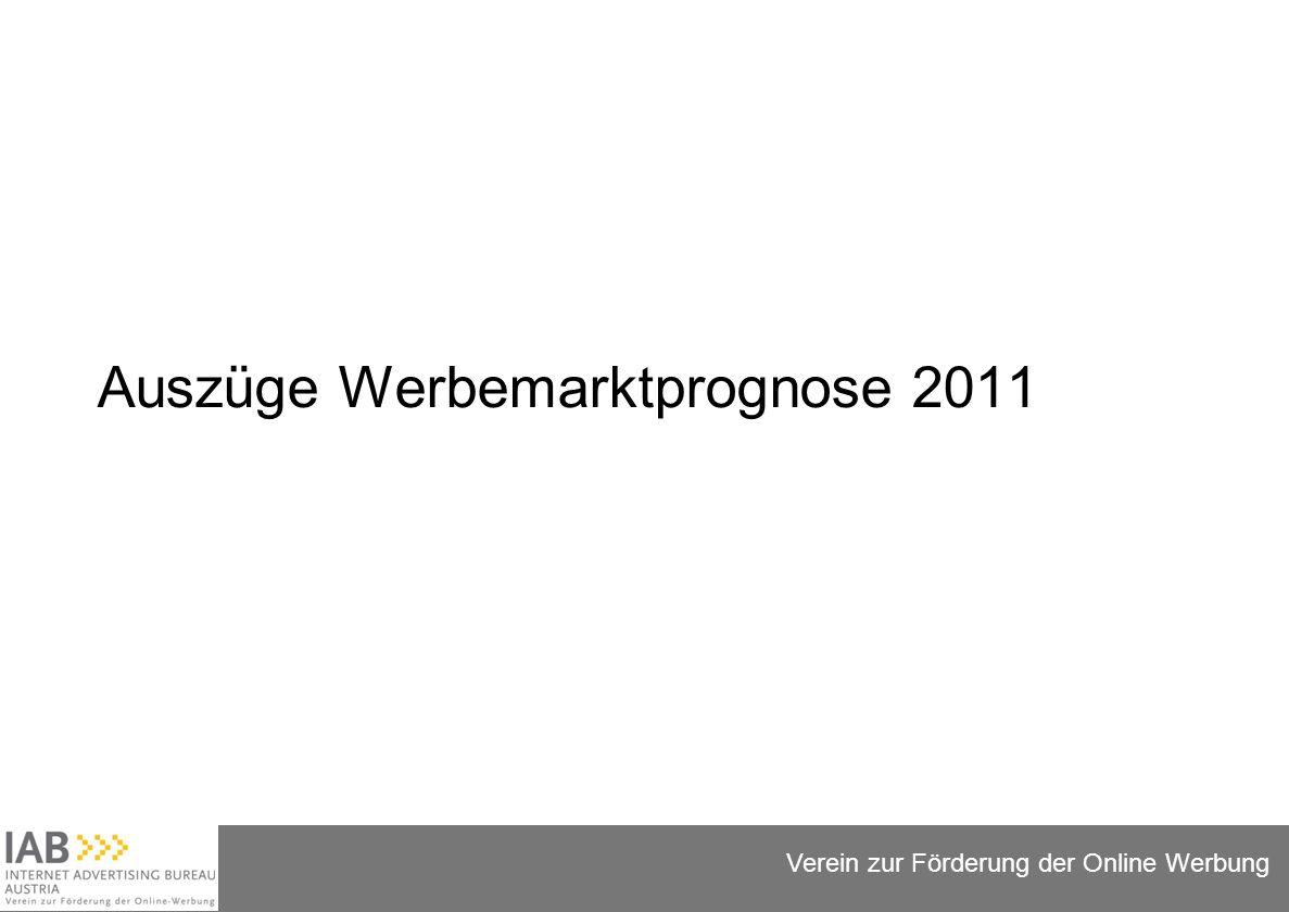 Folie 5 Verein zur Förderung der Online Werbung Auszüge Werbemarktprognose 2011