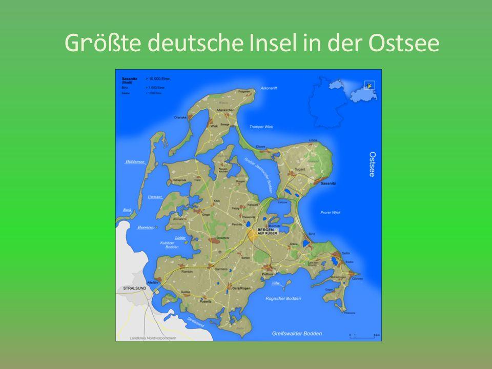 Gr ößte deutsche Insel in der Ostsee