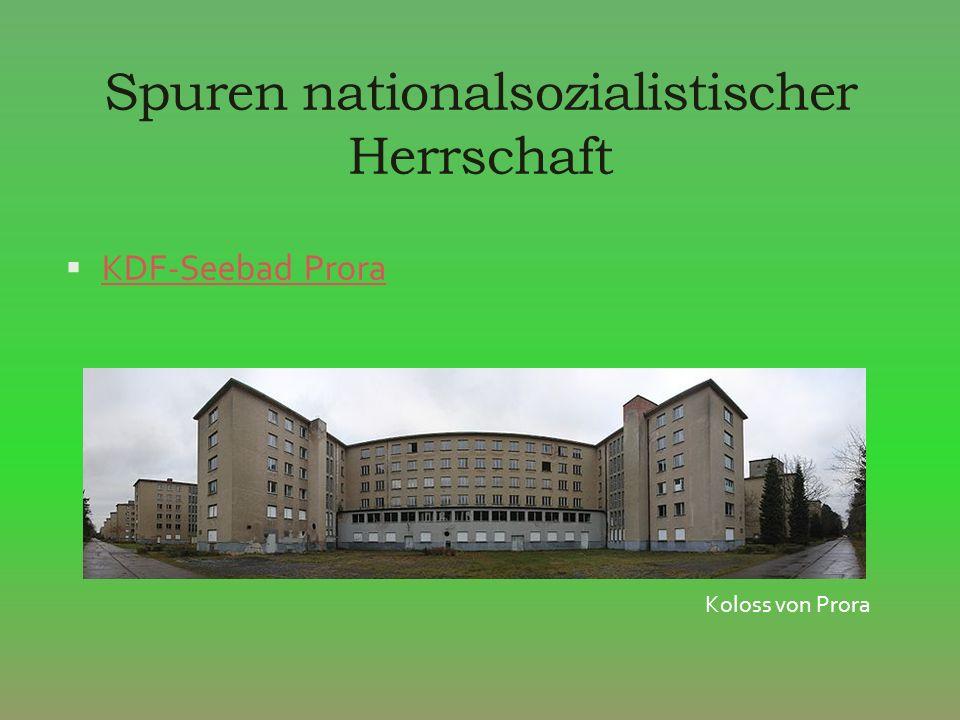Spuren nationalsozialistischer Herrschaft KDF-Seebad Prora Koloss von Prora