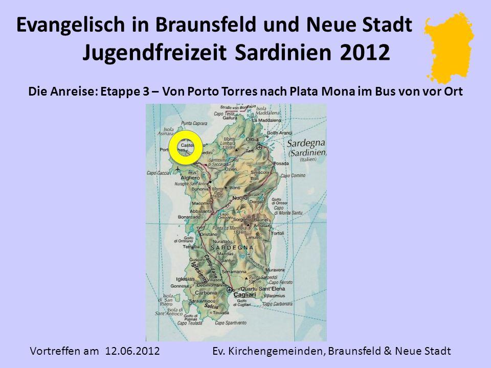 Jugendfreizeit Sardinien 2012 Vortreffen am 12.06.2012 Ev.