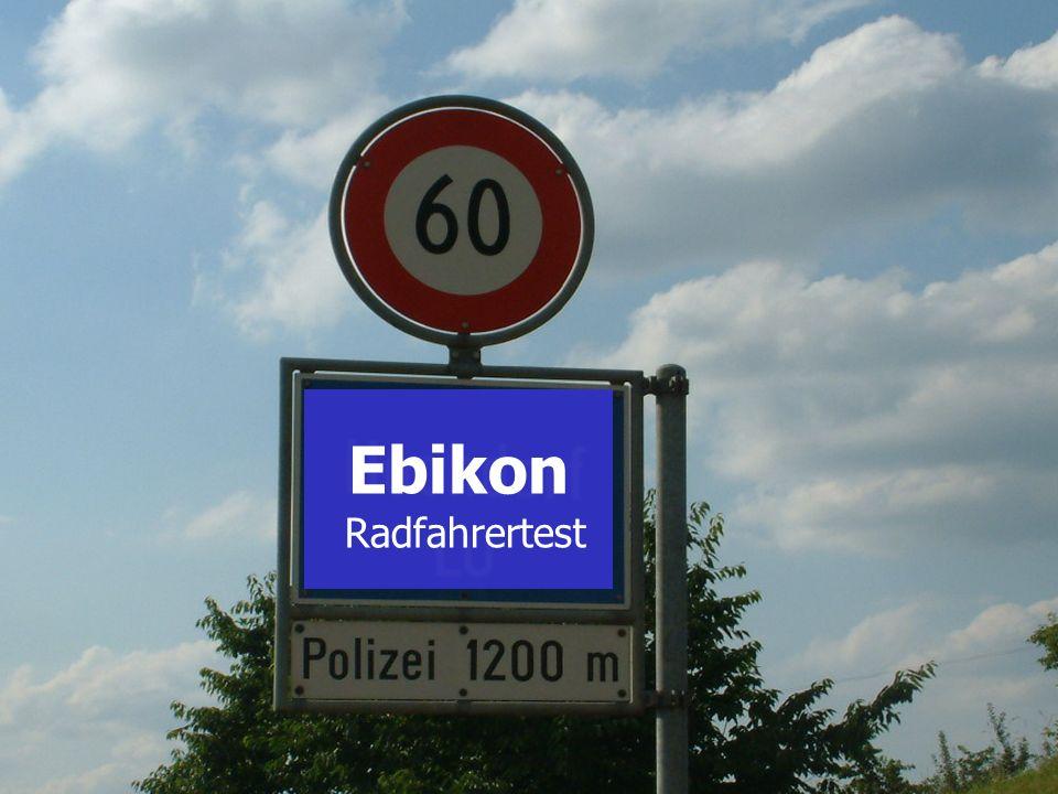 SH Wydenhof Ebikon Radfahrertest