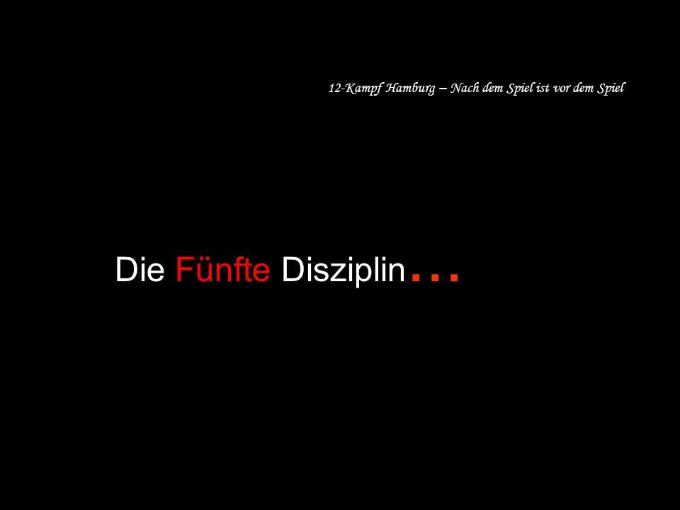 12-Kampf Hamburg – Nach dem Spiel ist vor dem Spiel Die Fünfte Disziplin...