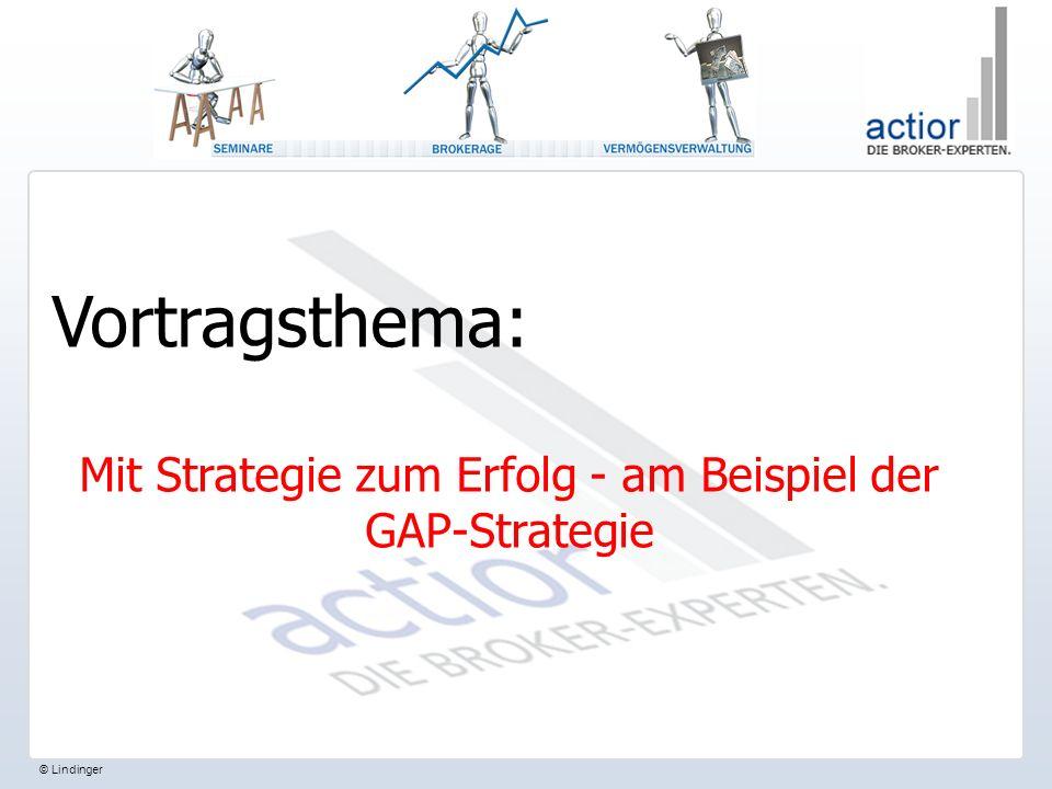 © Lindinger Vortragsthema: Mit Strategie zum Erfolg - am Beispiel der GAP-Strategie