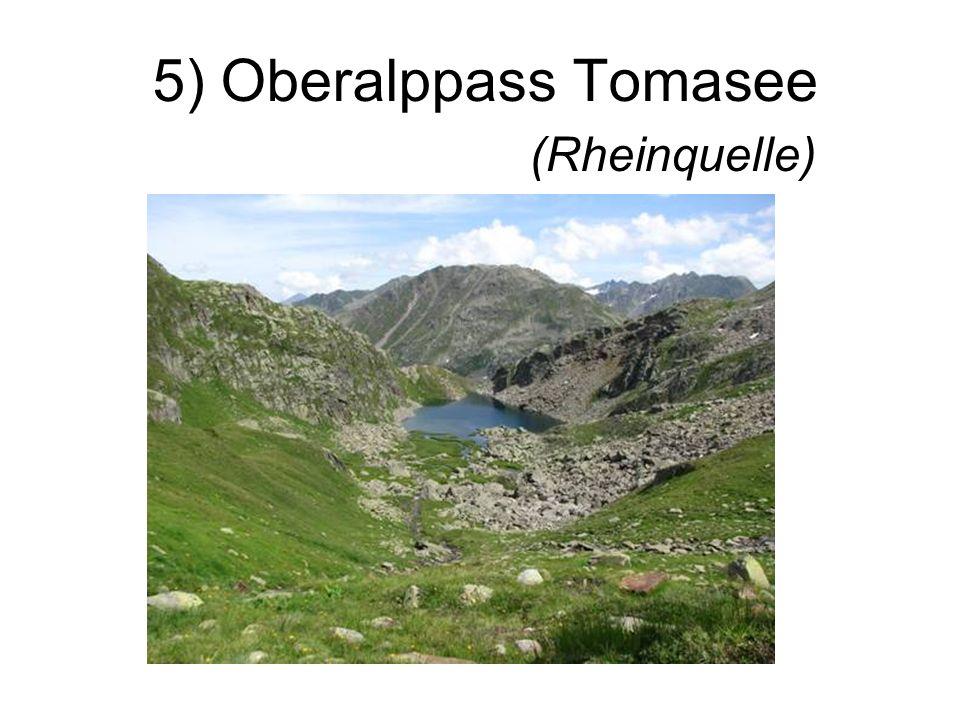 5) Oberalppass Tomasee (Rheinquelle)