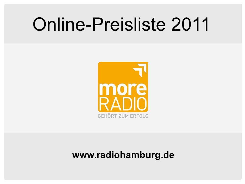 www.radiohamburg.de Online-Preisliste 2011