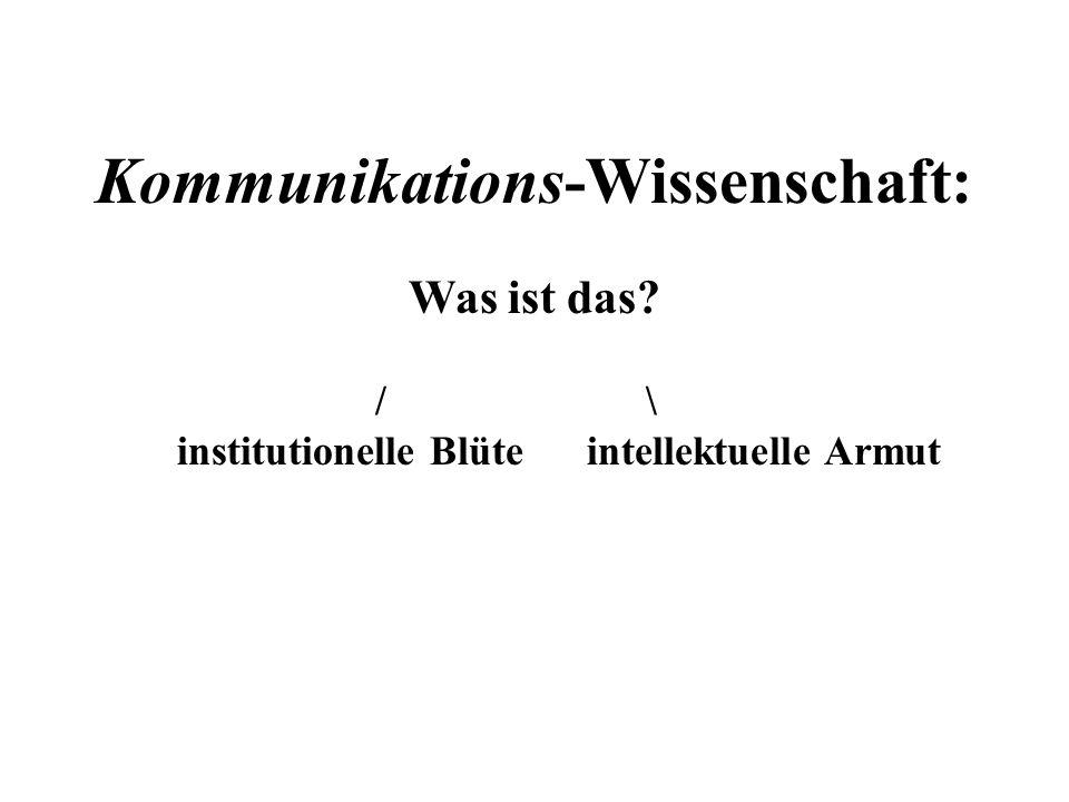 ERKENNTNIS ( nach Kommunikations-Theorie der Komplementarität) / \ SEINS-Erkenntnis.
