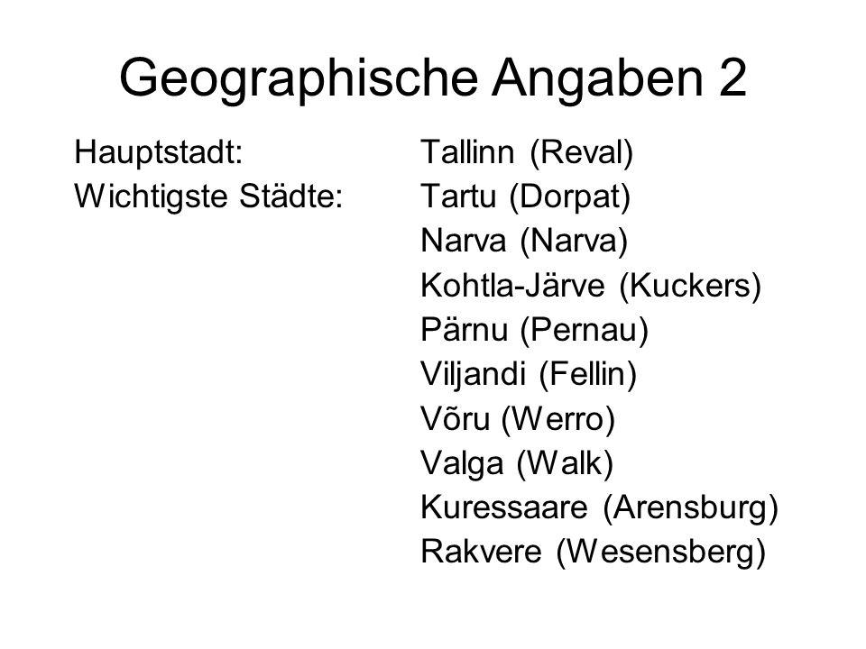 Geschichte 1: Anfang bis 1918 9-8 Jt.v. Chr. Besiedlung durch Esten 13.