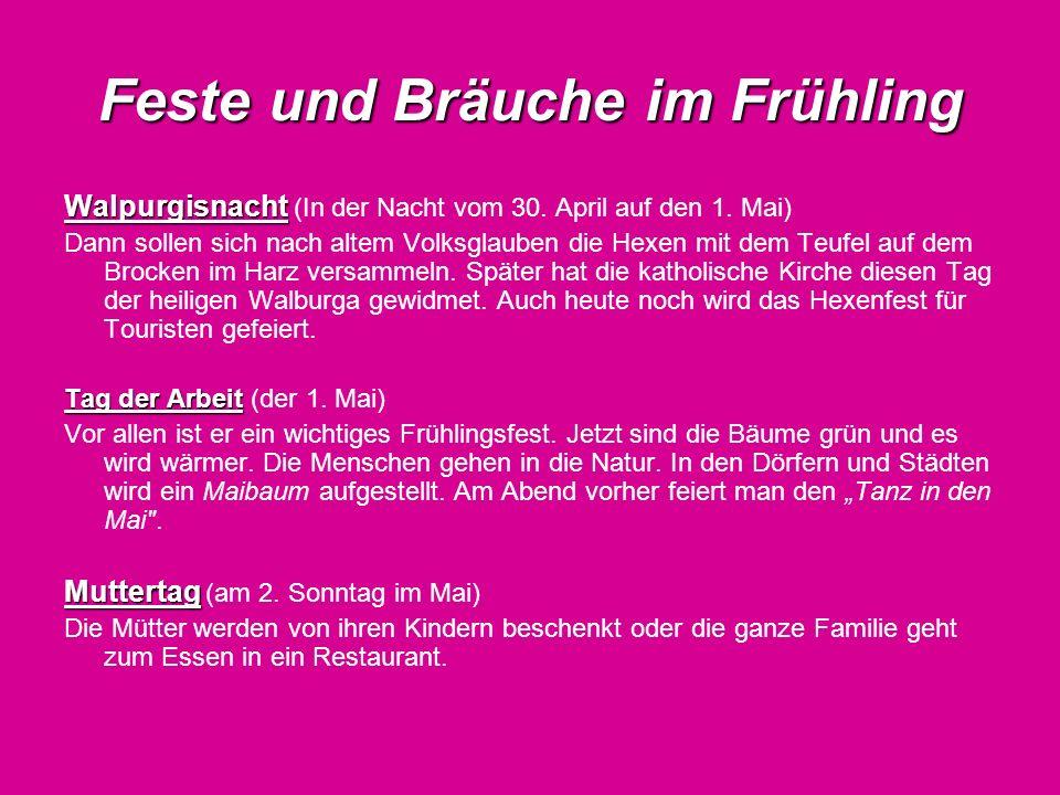 Feste und Bräuche im Frühling Eisheiligen Eisheiligen (am 11.-15.