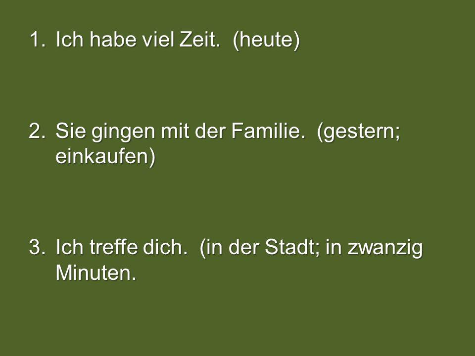 ( ) Ubung - D Fehlende Information.