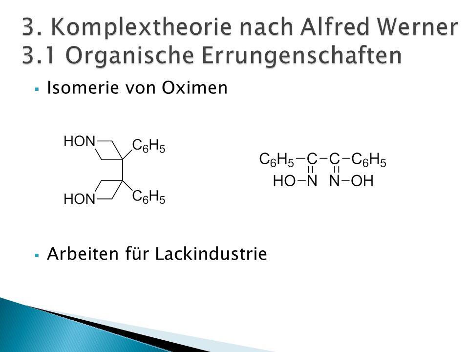 Komplexe = Koordinationsverbindungen Einheitlicher Aufbau: [ZLn]m[ZLn]m [Co(NH 3 ) 6 ] 3+