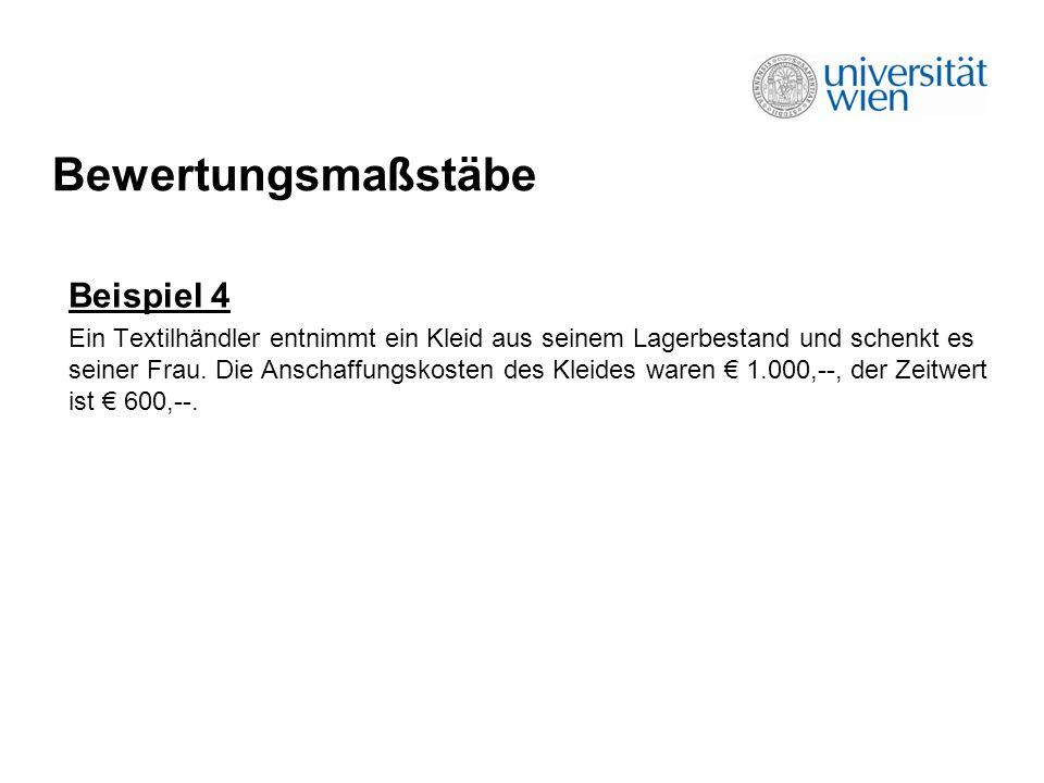 Betriebsveräußerung Beispiel 15 A ist seit 20 Jahren Eigentümer eines Restaurantbetriebes in Wien.