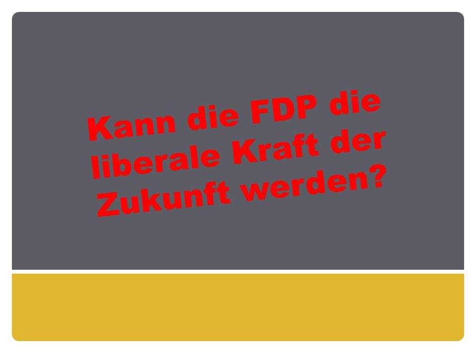 Kann die FDP die liberale Kraft der Zukunft werden?