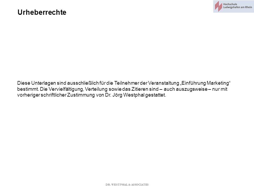 Markenmanagement Vor- und Nachteile Dachmarke Becker (2006) DR. WESTPHAL & ASSOCIATES