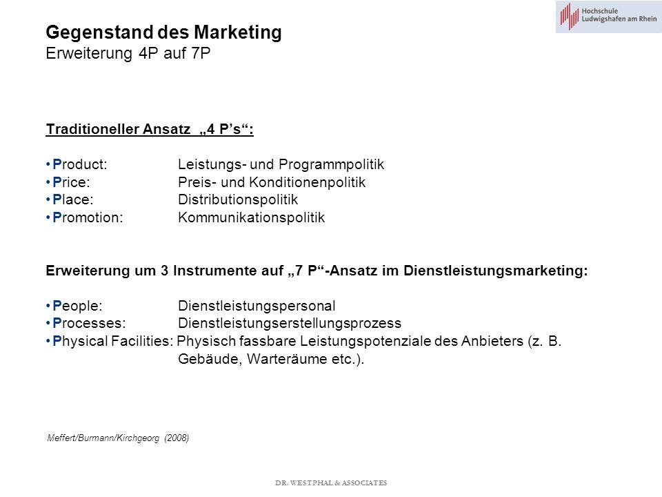Agenda Einführung Unternehmens- und Marketingziele Marketingstrategien Marktforschung Marketing-Mix (4P) Produktmanagement Preismanagement Placement Promotion Klausurvorbereitung DR.