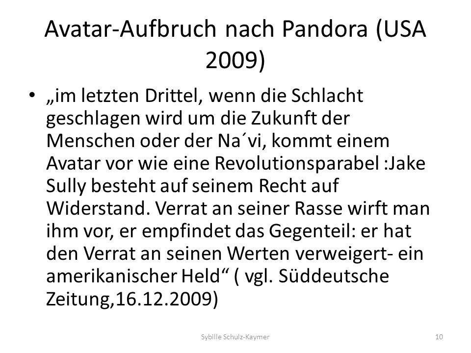Avatar-Aufbruch nach Pandora (USA 2009) im letzten Drittel, wenn die Schlacht geschlagen wird um die Zukunft der Menschen oder der Na´vi, kommt einem