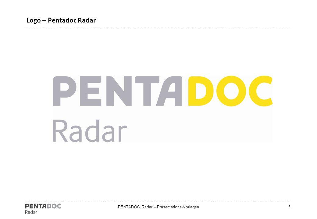 PENTADOC Radar – Präsentations-Vorlagen4 Setzen Sie in Ihrem Unternehmen ECM ein? (Deutschland)