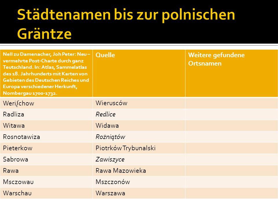 Nell zu Damenacher, Joh Peter: Neu – vermehrte Post-Charte durch ganz Teutschland. In: Atlas, Sammelatlas des 18. Jahrhunderts mit Karten von Gebieten