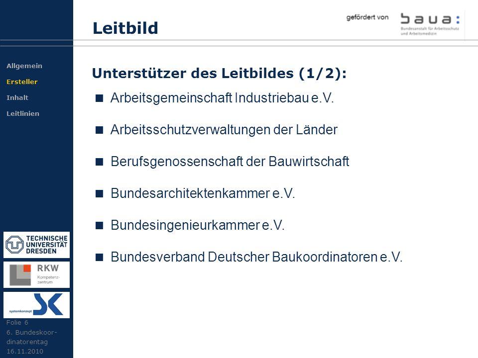 Leitbild Arbeitsgemeinschaft Industriebau e.V.