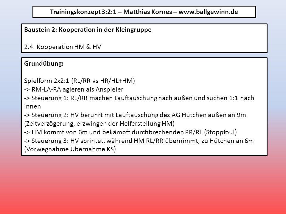 Baustein 2: Kooperation in der Kleingruppe 2.4.