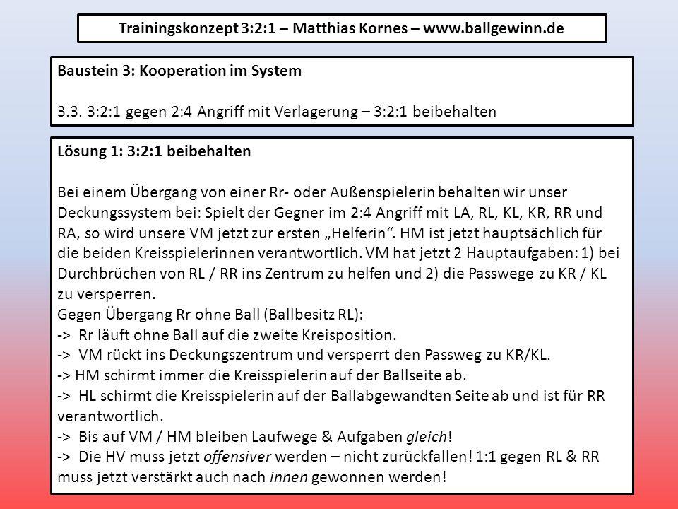 Baustein 3: Kooperation im System 3.3.