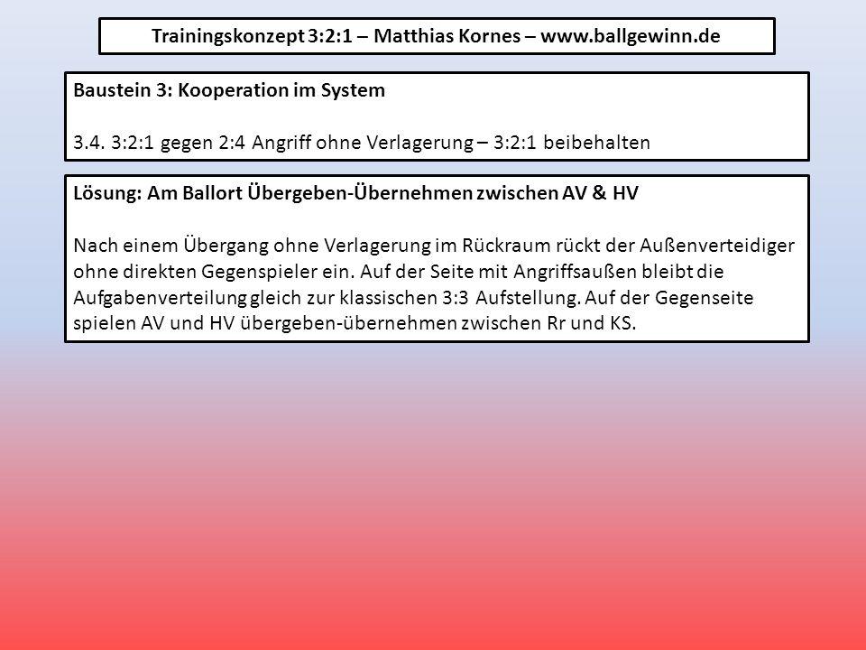 Baustein 3: Kooperation im System 3.4.