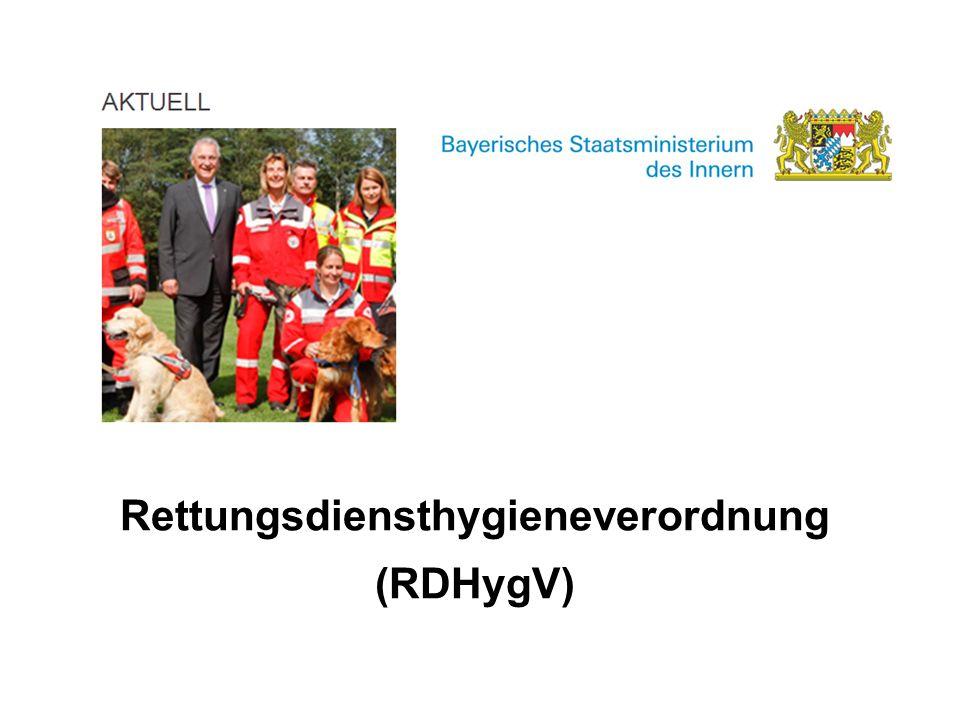 Rettungsdiensthygieneverordnung (RDHygV)