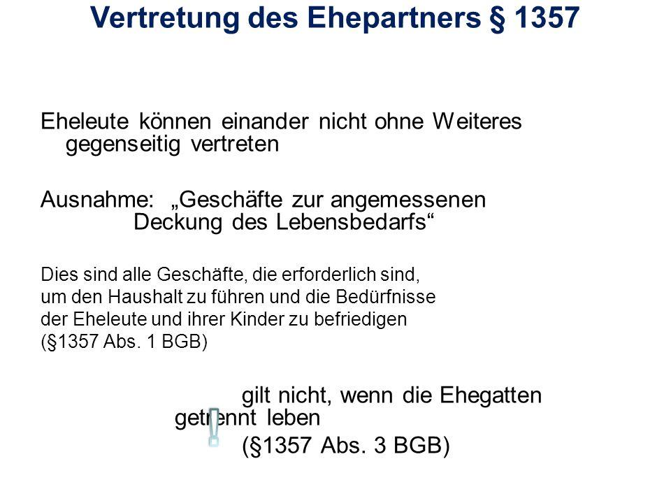 Lösungsvorschlag: Nach § 1378 BGB hat F einen Anspruch auf Zugewinn, wenn ihr Zugewinn geringer ist als der von M.