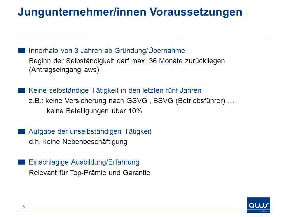 Statistik 2012 26 ZusagenProjektkosten in EUR Zuschussbetrag /Obligo in EUR Jungunternehmer/innen- Scheck 7339,735 Mio.733.000 Jungunternehmer/innen- Prämie ERP-KK 2021,812 Mio.202.000 Jungunternehmer/innen- Topprämie 10323,872 Mio.1,94 Mio.