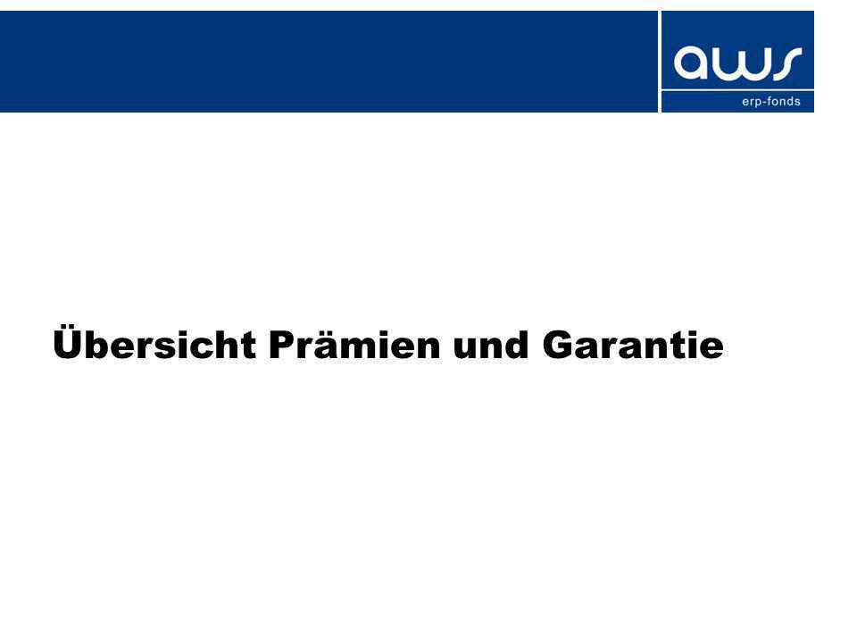 Jungunternehmer/innen - Förderung ab 2012 8 PrämienförderungGarantie Jungunternehmer/- innen – Scheck Jungunternehmer/- innen – Prämie zum ERP-KK Jungunternehmer/- innen – Topprämie Gründungs-/ Nachfolgebonus Jungunternehmer/- innen – Garantie Förderhöhe in EUR 1.0005% (max.